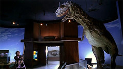 Hiro and the dino you won't see on night at the museum