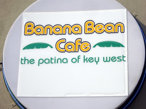 Banana Bean Cafe Sign (Columbus, OH)