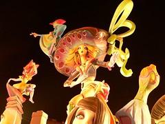 Fallas Pilar- Valencia09 (Gwinever) Tags: friends love valencia colors happy lights spain nights fallas