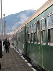 BDZ steam heat 2008 03 (EEType1) Tags: travel train tren europe rail railway zug bahnhof loco trains bulgaria balkans bahn easteurope lok vlak bdz locohaulage
