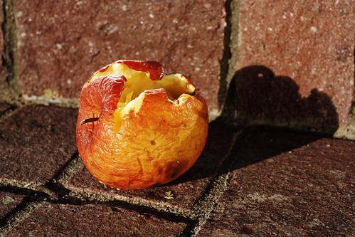 Broken apple
