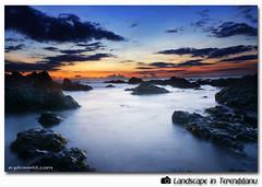 Solid determination (NeeZhom Photomalaya) Tags: longexposure wallpaper beach nature landscape dawn rocks malaysia terengganu blueribbonwinner flickrsbest abigfave aplusphoto theunforgettablepictures platinumhea