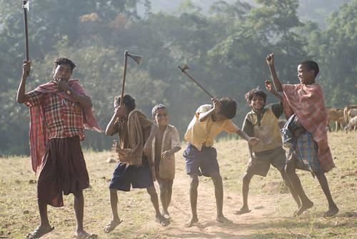 Un grupo de Dongria Kondh