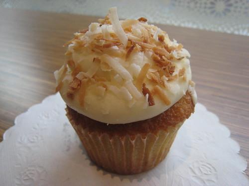 Coconut Cupcake 2