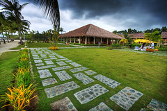 BBC (the-earth-colors) Tags: camera building brick beach canon landscape fun eos hotel flickr raw pov bricks philippines explore bbc gb bohol filipino vignette hdr pinoy panglao pave pavers pavements glendon 4star lucisart pilars classique cs4 boholbeachclub photomatix 40d macquinto