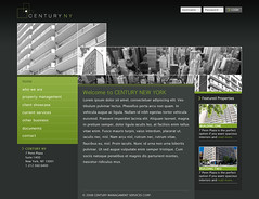 Century NY - version 2 (Cristian Bosch) Tags: screenshots webdesign template mockups webtemplate mockdesign webcomps