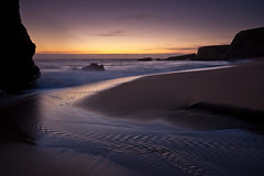 Panther Beach, Davenport CA (After Dark Photo) Tags: ocean california sunset santacruz beach water creek coast rocks waves highway1 coastal coastline davenport santacruzcoast majors pacifcocean santacruzcounty pantherbeach leefilter ndgrad9 ndgrad6
