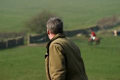 Foot Following, by Quad (nick3216) Tags: uk horse caballo cheval hunting lancashire cal pferde cavallo cavalo hunt hest harrier hevonen paard  hst  ko vlh valeofluneharriers