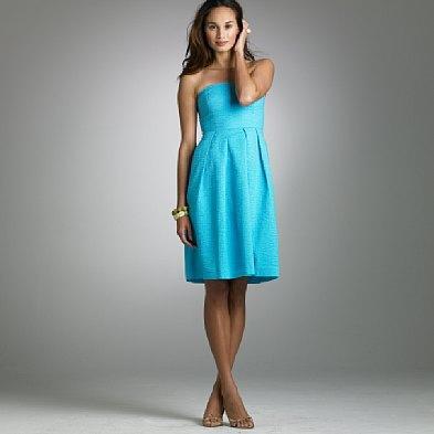 embossed cotton lorelei dress, jcrew