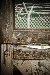 Barn Door (Shuttah Slug) Tags: california abandoned losangeles brentwood oldbuilding abandonedbuilding rusticcanyon murphysranch murphyranch nazisympathizercamp sunsetblvdtocapri