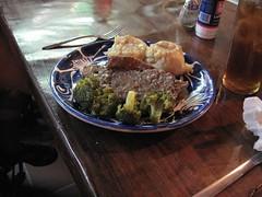 Meatloaf supreme at Palapa Joe's