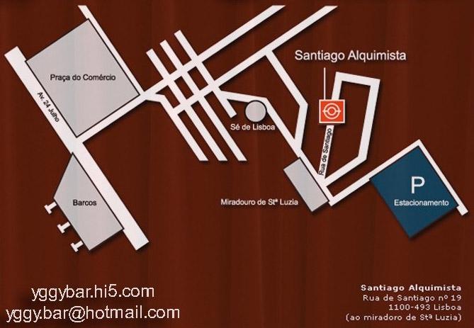 Yggy - Santiago Alquimista - Mapa