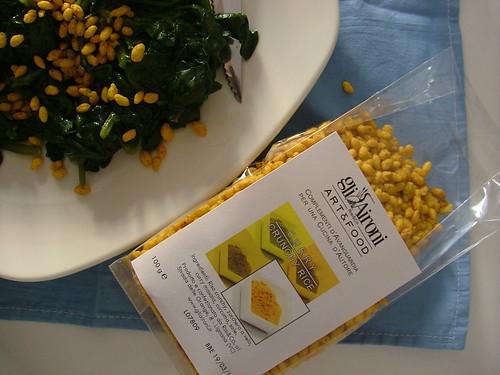Curry Crunchy Rice