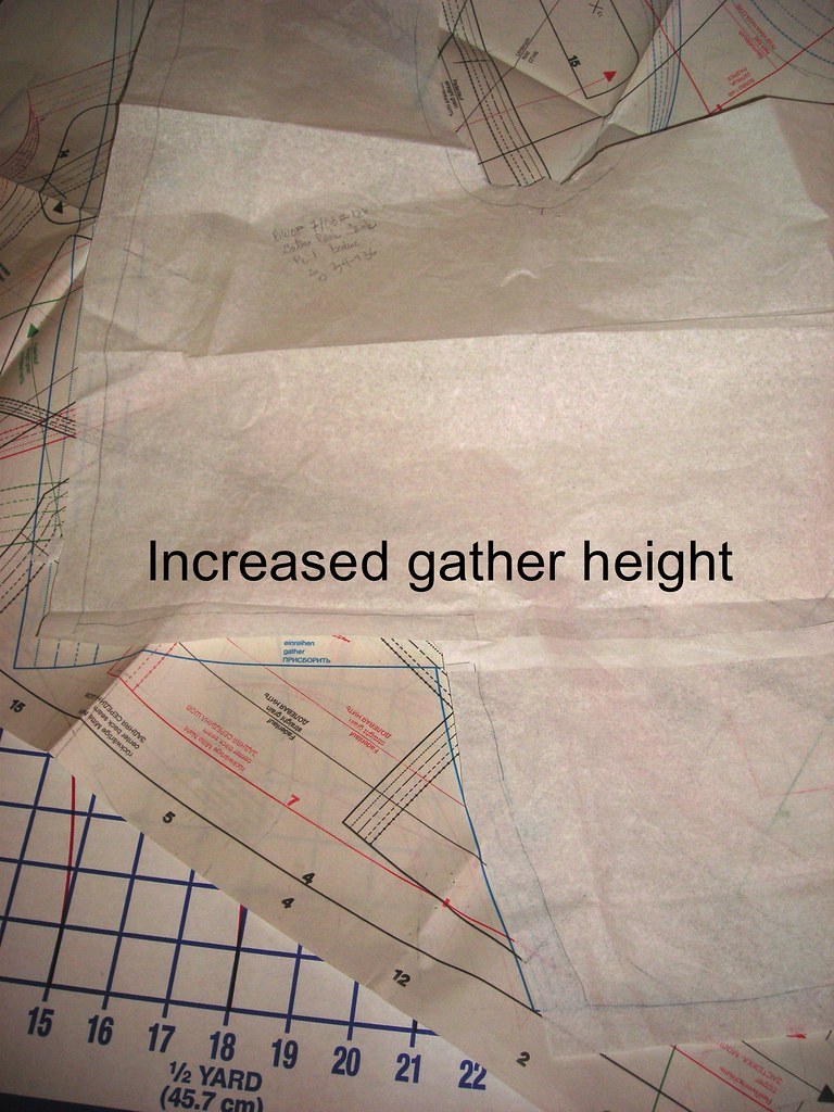 Increased Gather Height