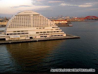 An expensive hotel at Harborland
