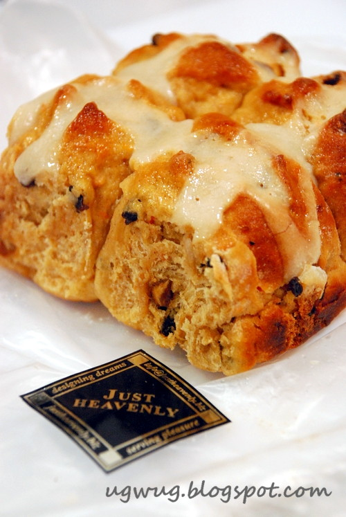 Hot Cross Buns - Just Heavenly Pleasures