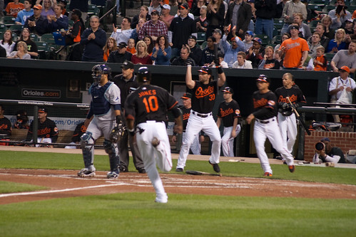 Adam Jones hit well that night.