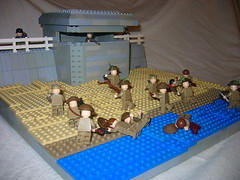 Juno Beach D-Day Nan Red Sector pic2 (Aaron Patrick Morse) Tags: lego ww2 junobeach brickarms brickforge brickmania