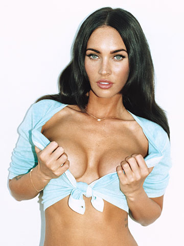 megan fox breast