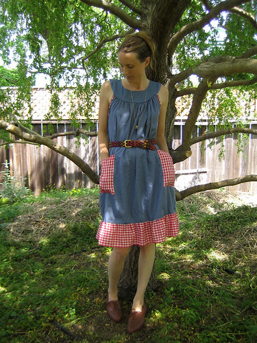 gingham + chambray = yay!