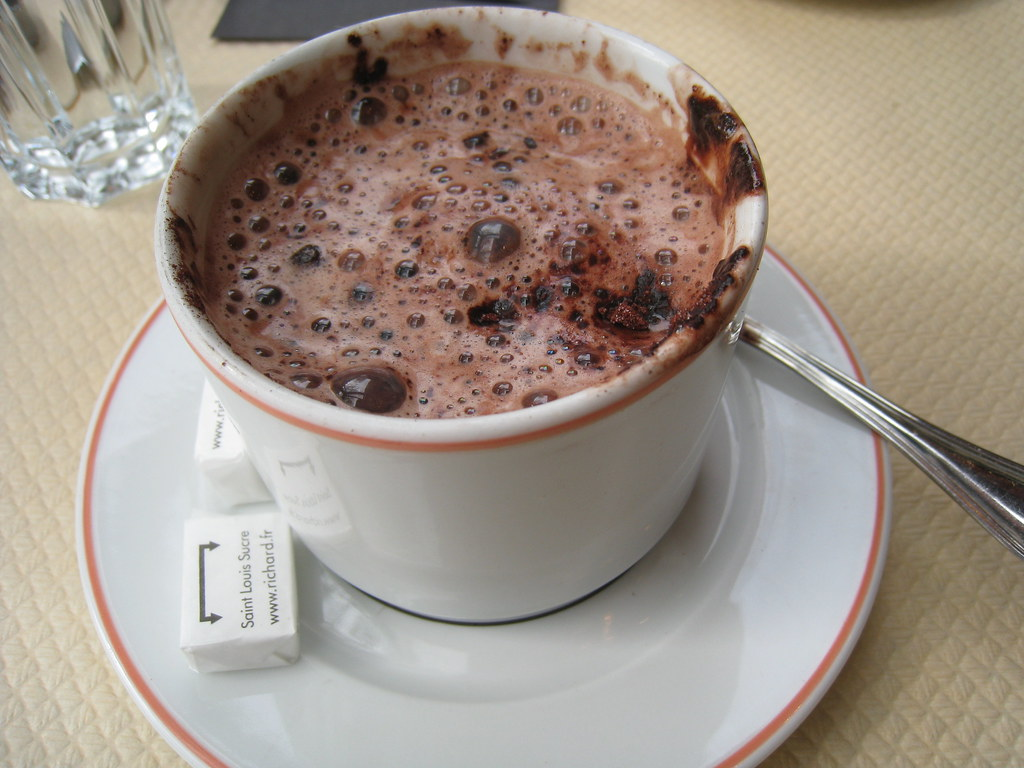 Hot Chocolate after the Eiffel Tower