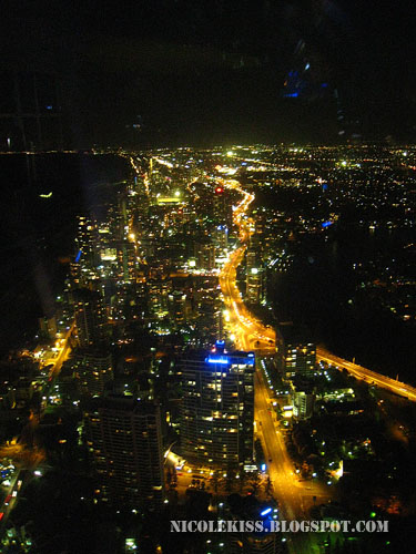 gold coast at night
