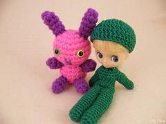 Nola The Bunny (for adoption) & Winzig