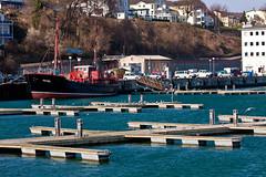 Im Hafen von Sassnitz (DerWusti) Tags: deutschland urlaub rgen ostsee deu frhling mecklenburgvorpommern sassnitz rgen frhling sasnitz sanitz