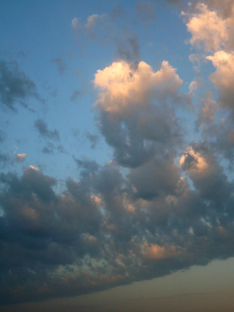 Le ciel.11.05.09.7.30 A.M