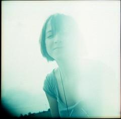 Gylli (PSeverinJ) Tags: portrait holga lomo xpro fuji analogue backlighting