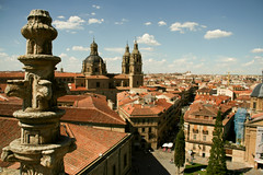 Cathedral of Salamanca (Eva Rees) Tags: city trip travel urban españa food walking us spain europe sightseeing culture local salamanca rtw metropolitan cultural roundtheworld espa espaa foreignfoods