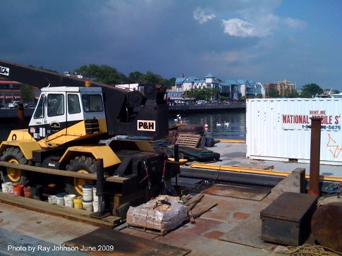 construction barge footbridge jun 12 09 truck  1