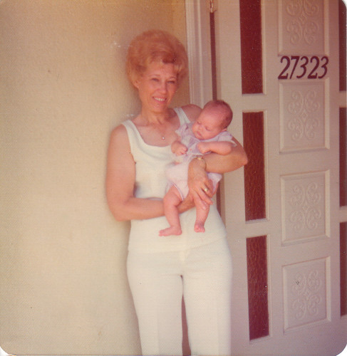 baby christy and Memaw
