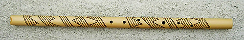 Scott August Mojave 6 flute front view