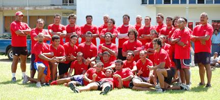 Tongan Rugby Team