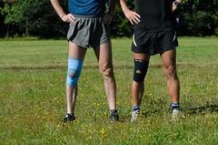 Skokanské koleno - bolesti v dolní části čéšky