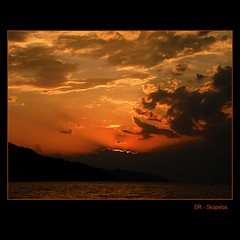 I believe in angels... (Skopelos ) Tags: sun sunset sky clouds sunrays sea skopelos greece cloud goldensunset dusk golden yellow sensational sunlight light explore explored frontpage fp aegeansea rangecolor skopelosnet cafeelite magicunicornverybest