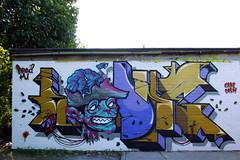 Teaone & Dead @ Dead HQ (TEAONE 9N069T) Tags: dead graffiti sketch tea zombie crack hq tone southport cockroach nsa teaone 9no69t dead4u