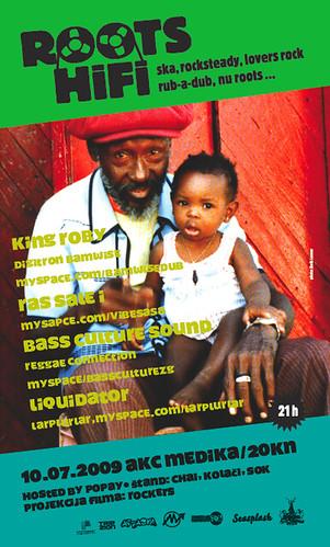 Roots HI FI party u Mediki