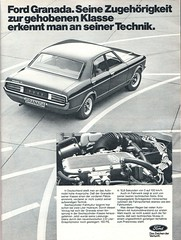 ford granada (1977) (sonjasfotos) Tags: ford vintage advertising granada oldtimer werbung reklame caradvertising