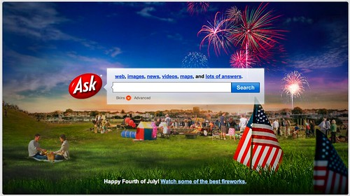 Ask July 4th Logo