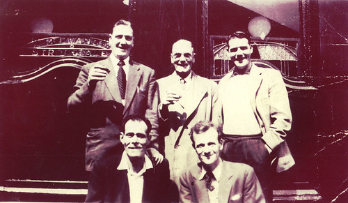 Partick Thistle supporters 1950s