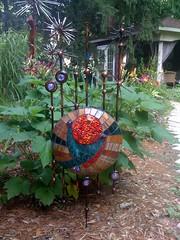 alien abstract 3jpg (Moe's Ache) Tags: mosaic bloomington cappi moesache moesachestudio alienabstract gardenmoesachestudiocappibloomingtonmosaicalienabstractmoesachestudiomoesache
