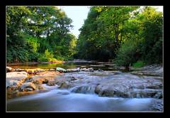 (Bojan Janjic) Tags: blue motion green nature water grass river landscape nikon smooth filter nikkor hdr d60 nd8 teslic 1855vr