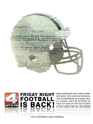 """Friday Night Football"" Full Page Ad v.2"