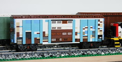 Swoofty's Weathered Blue Boxcar