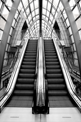 stairway to heaven - explored #398 (Dennis_F) Tags: blackandwhite white black architecture germany deutschland ece sony escalator stairway treppe shoppingmall architektur symmetric dslr schwarzweiss tamron karlsruhe weiss schwarz ka stairwaytoheaven bogen rolltreppe parkdeck symmetrie einkaufszentrum a700 ettlingertor tamron1750 alpha700 top20karlsruhe