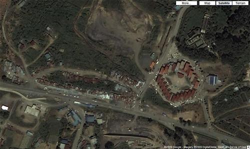 Finally GoogleMap of Kundasang!