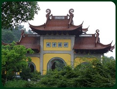 The entrance of Temple (Leo ) Tags: landscape temple hill entrance buddhism shaoxing leozhu