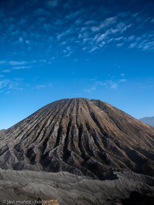 Formación volcanica desde las malditas escaleras